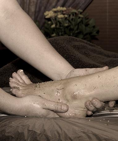 Charan-Foot-Bath